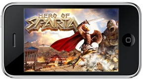 iphone game Sparta