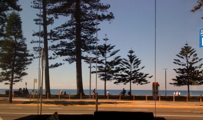 Manly Beach View from the Manly Pacific