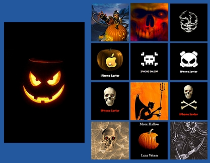 Free Halloween wallpapers for iPhones